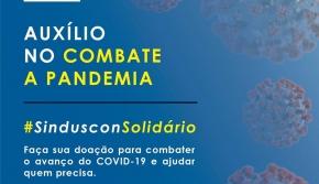 Campanha do Sinduscon arrecada donativos a quem mais precisa
